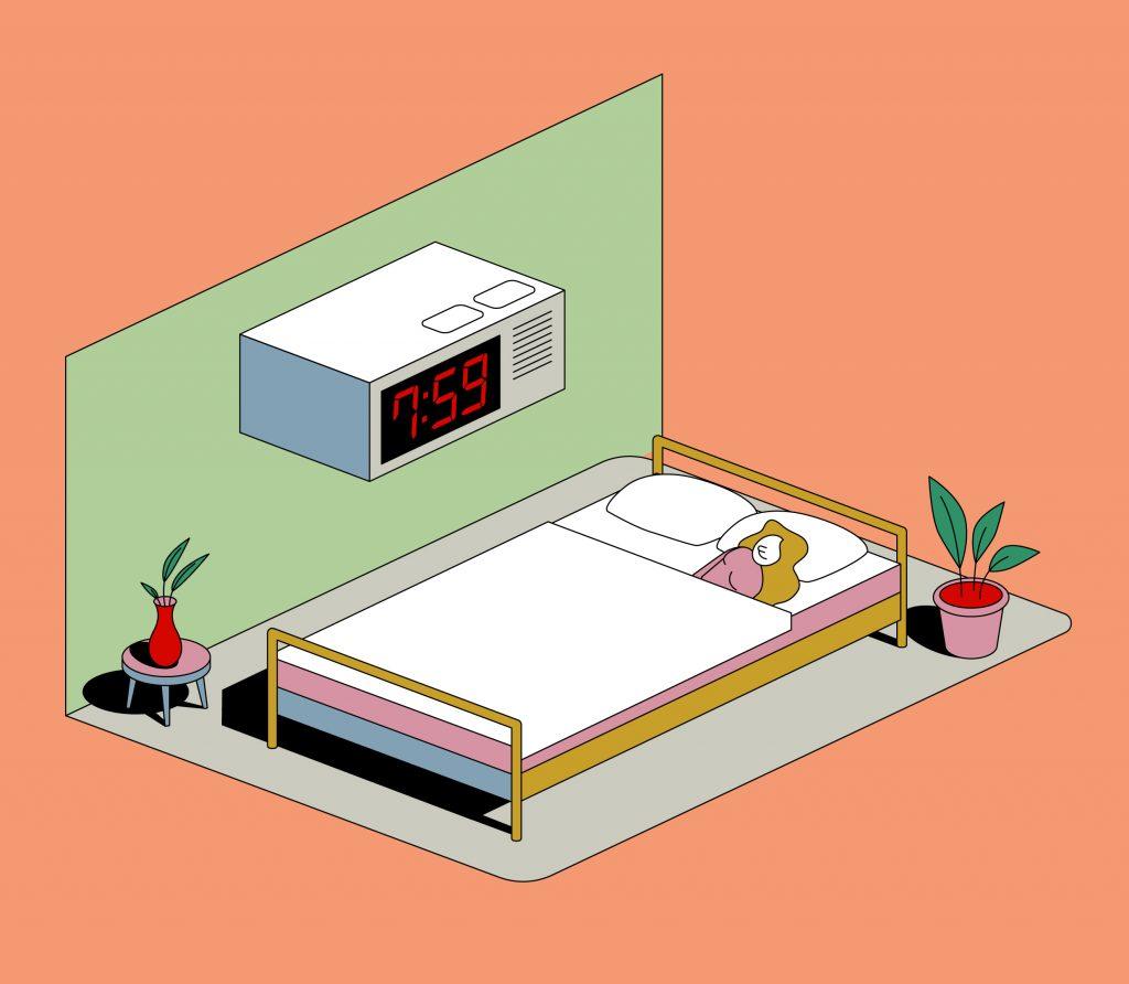 La importancia de los horarios a la hora de dormir