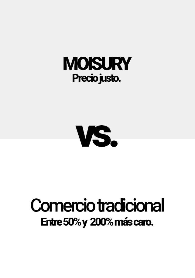 Moisury Comparación Móvil