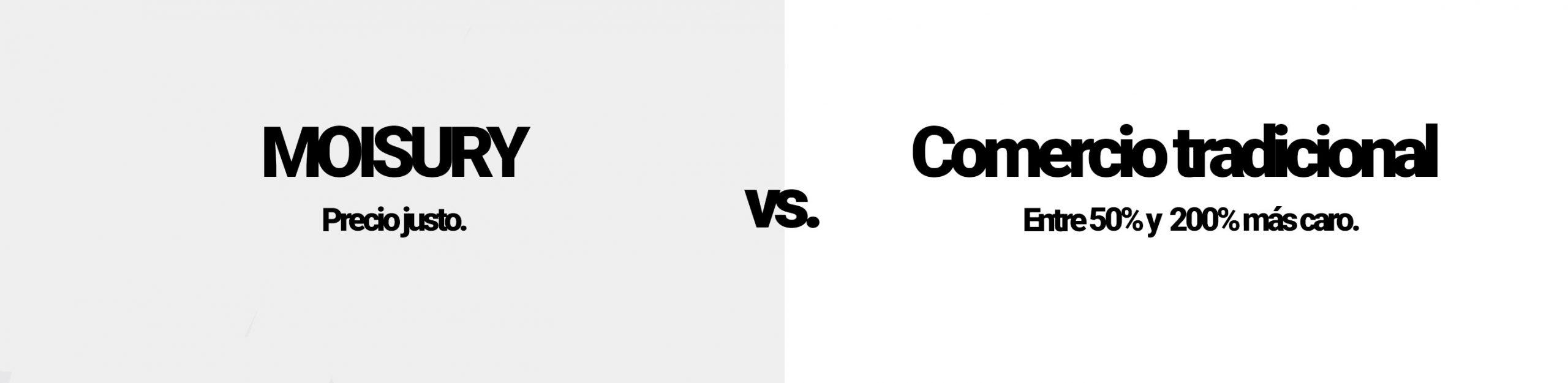 Moisury Comparación